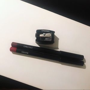 💋 Lip Liners and Chanel Sharpener